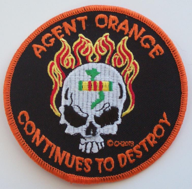 AGENT ORANGE CONTINUES TO DESTROY PATCHES