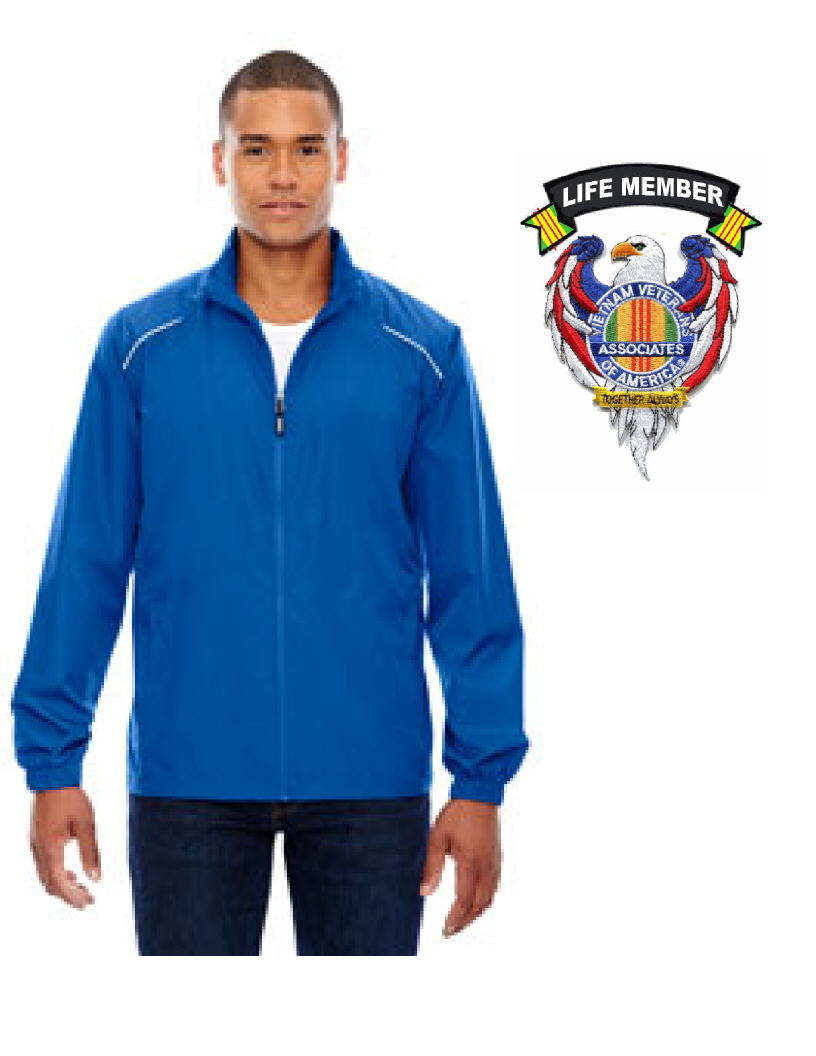 AVVA MENS JACKET WITH EAGLE LIFE MEMBER PATCHES