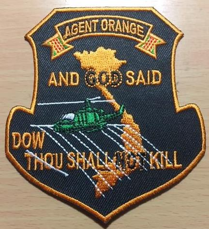 AGENT ORANGE DOW SHALL NOT KILL PATCHES
