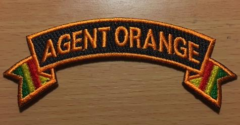 AGENT ORANGE TABS/PATCHES(B)