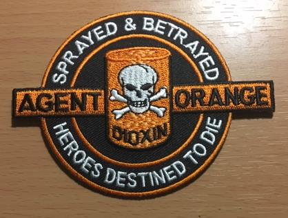 AGENT ORANGE HEROES DESTINED TO DIE PATCHES